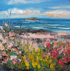 Flowers by the Shore, North Berwick