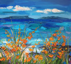 Inner Hebrides with Montbretia