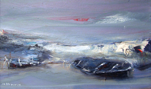 Weathered Boats, Auchmithie